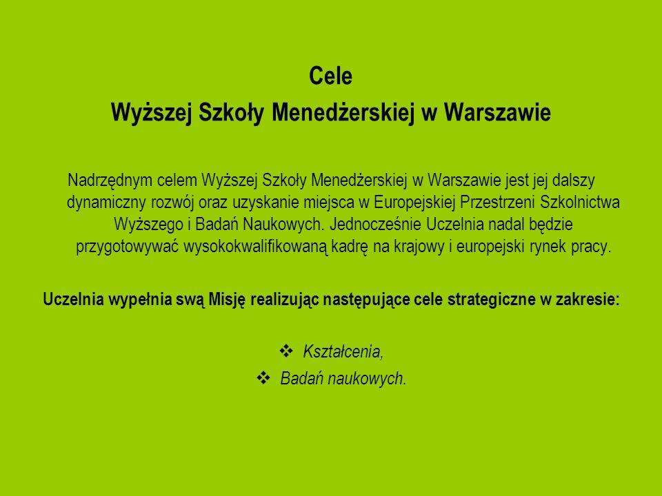 Wyższej Szkoły Menedżerskiej w Warszawie