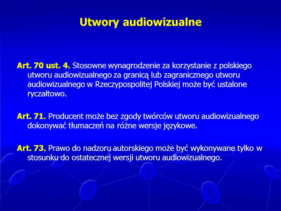 Utwory audiowizualne