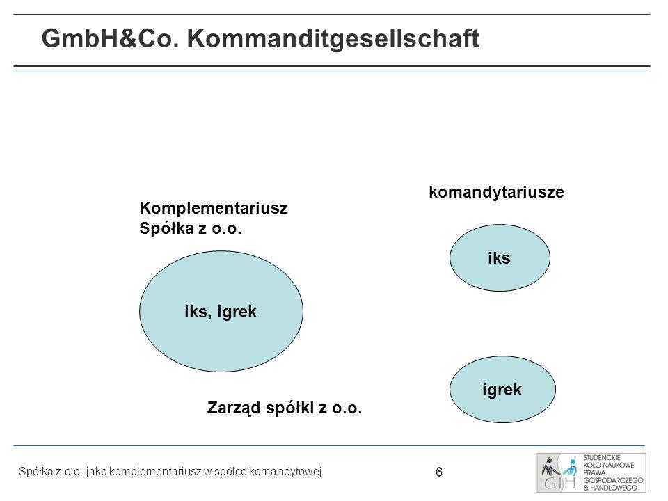 GmbH&Co. Kommanditgesellschaft
