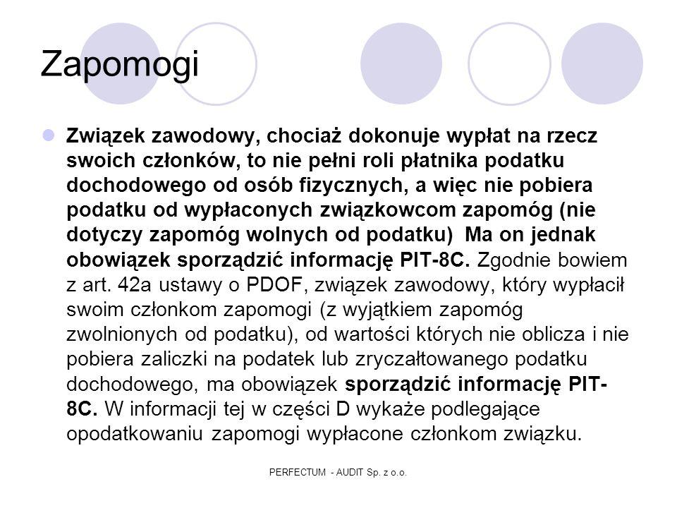 PERFECTUM - AUDIT Sp. z o.o.