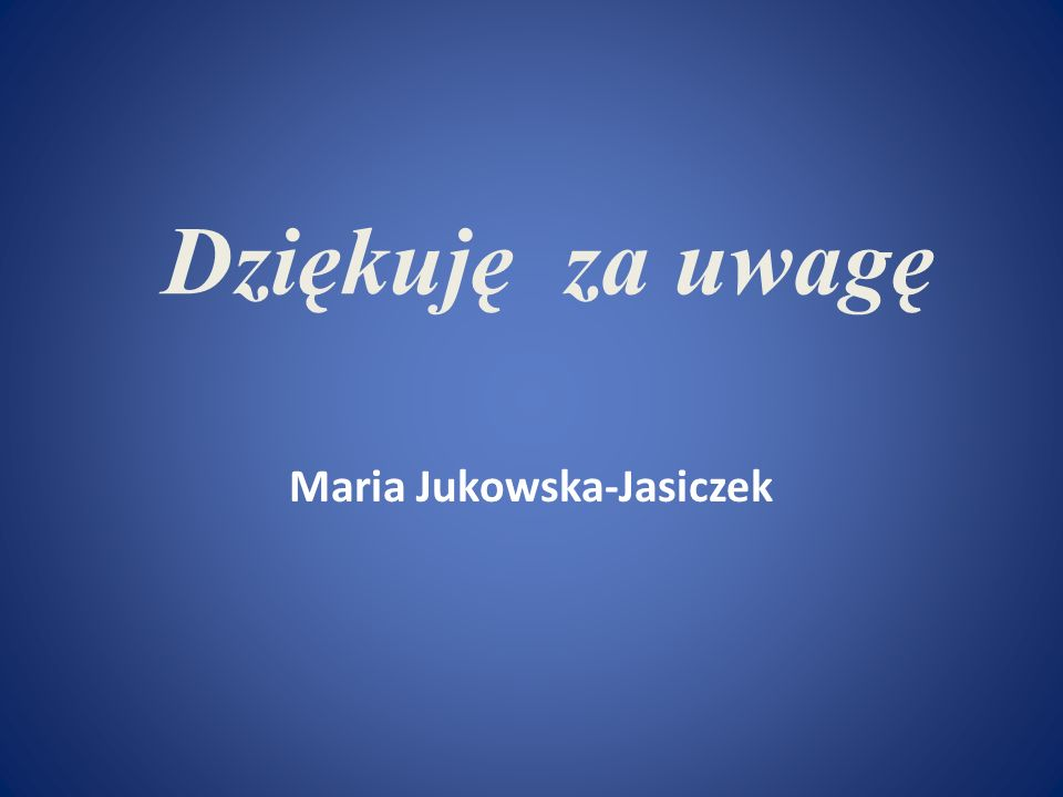 Maria Jukowska-Jasiczek