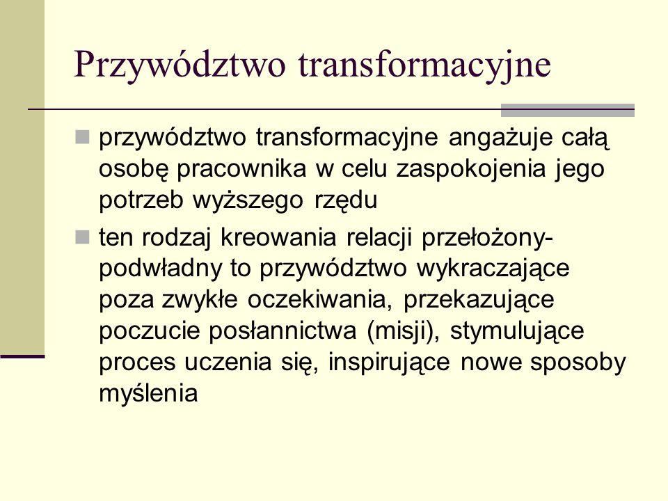 Przywództwo transformacyjne