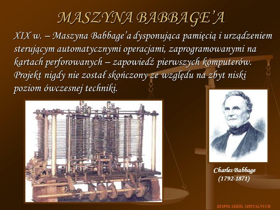 MASZYNA BABBAGE'A