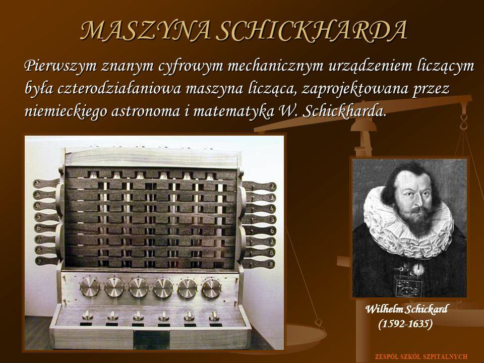 MASZYNA SCHICKHARDA
