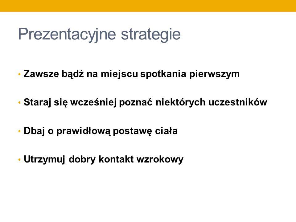 Prezentacyjne strategie