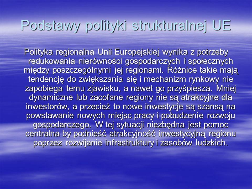 Podstawy polityki strukturalnej UE