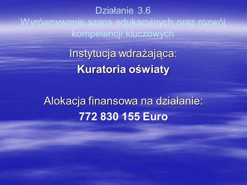 Kuratoria oświaty 772 830 155 Euro