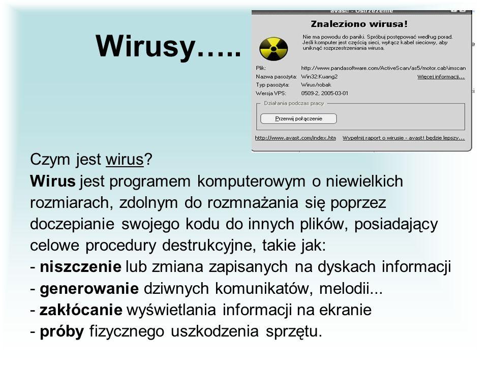 Wirusy….. Czym jest wirus