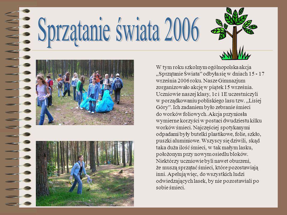 Sprzątanie świata 2006