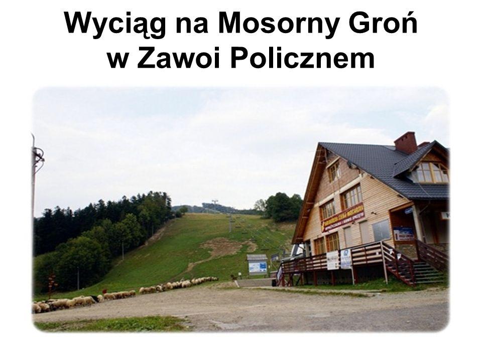 Wyciąg na Mosorny Groń w Zawoi Policznem