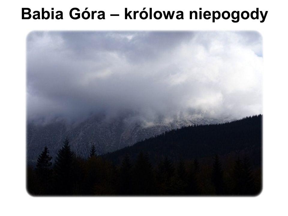 Babia Góra – królowa niepogody