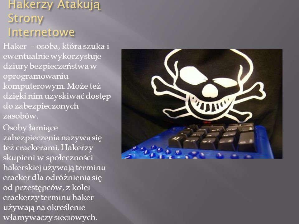 Hakerzy Atakują Strony Internetowe