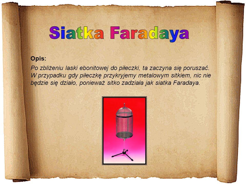 Siatka Faradaya Opis: