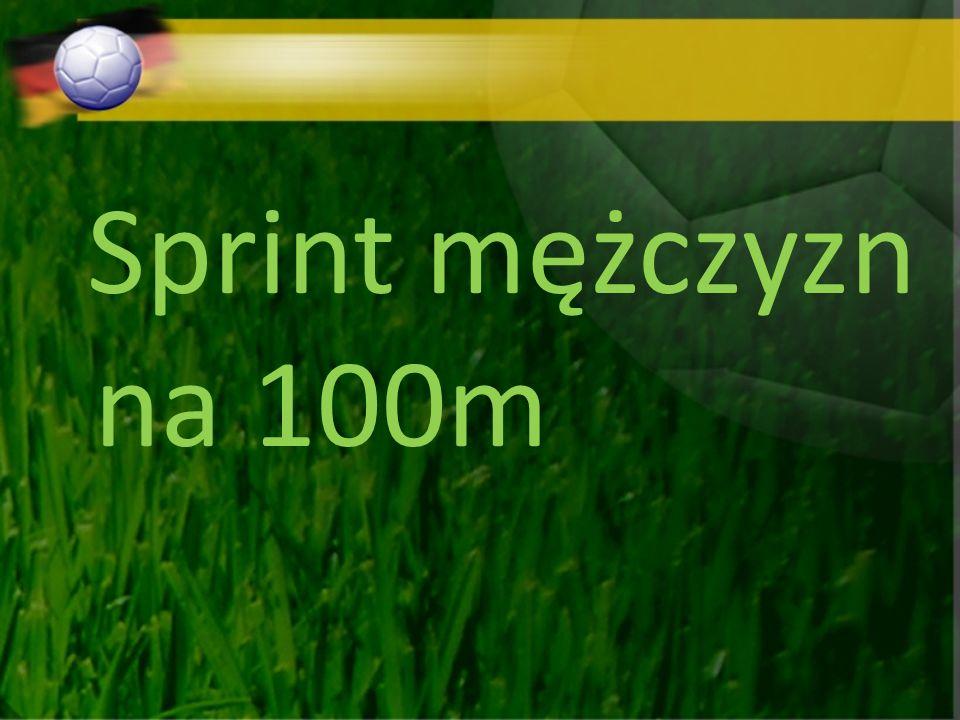 Sprint mężczyzn na 100m