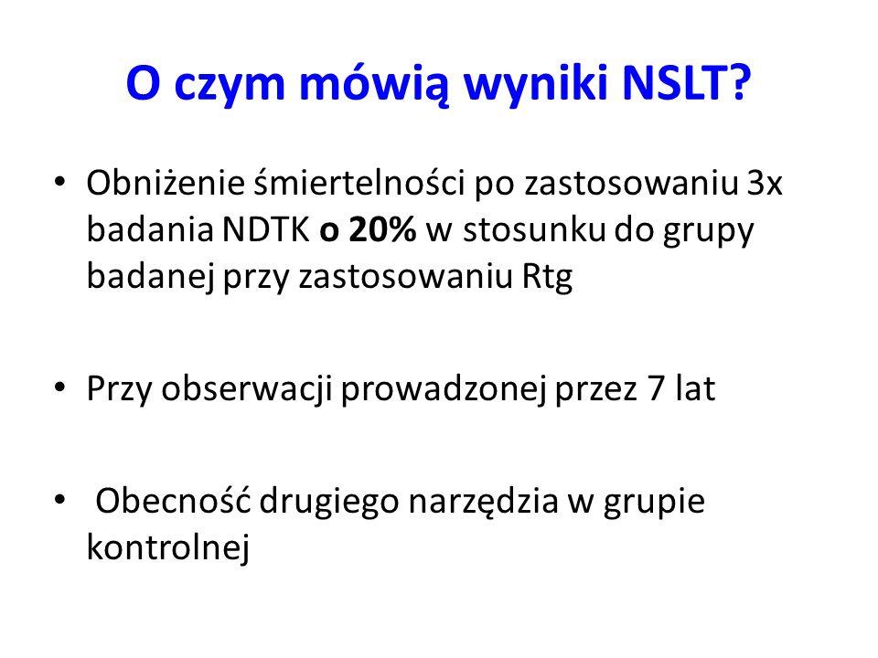 O czym mówią wyniki NSLT