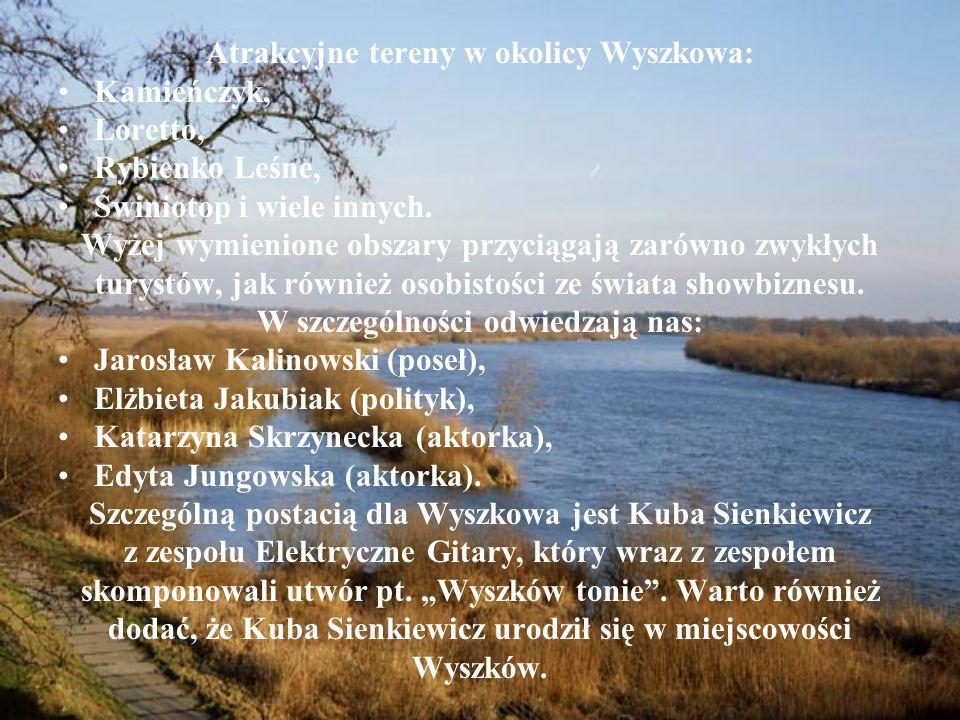 Atrakcyjne tereny w okolicy Wyszkowa: Kamieńczyk, Loretto,