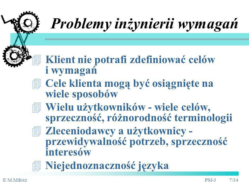 Problemy inżynierii wymagań