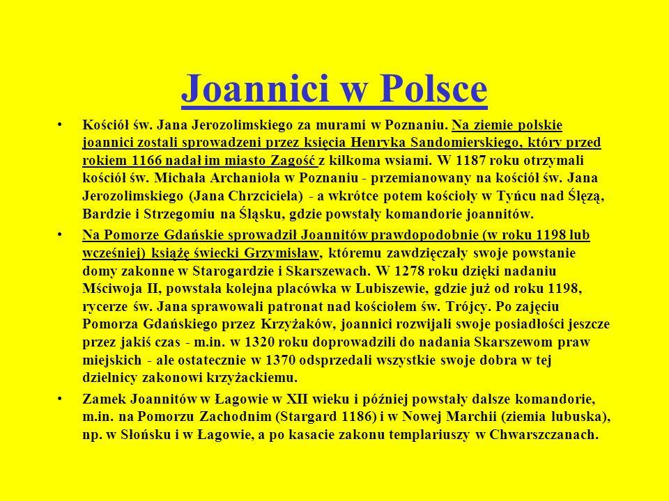 Joannici w Polsce