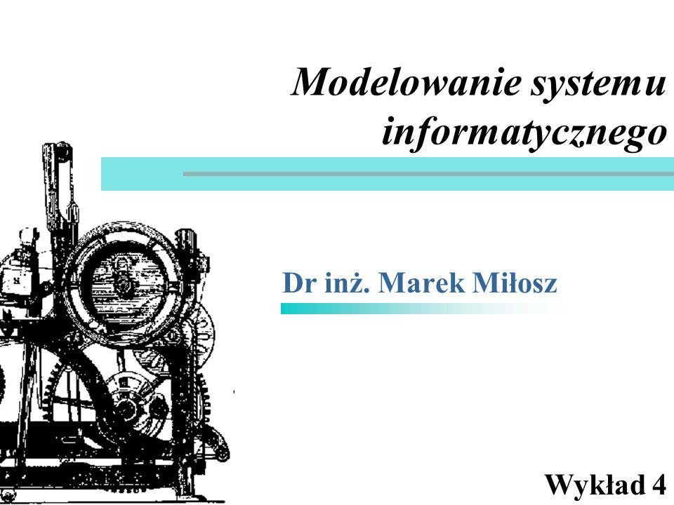 Modelowanie systemu informatycznego