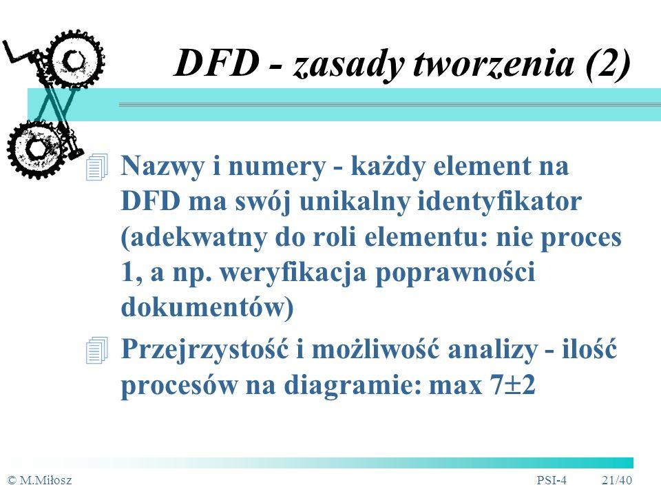 DFD - zasady tworzenia (2)
