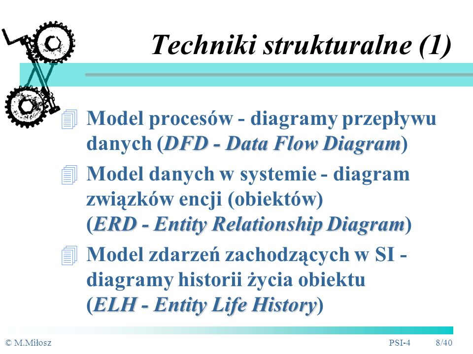 Techniki strukturalne (1)