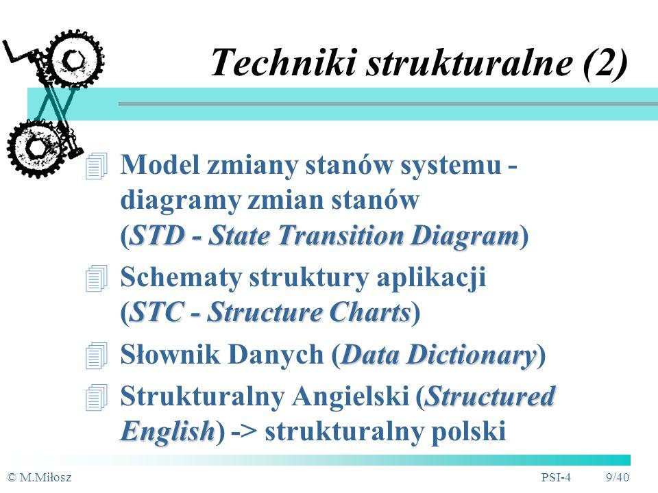 Techniki strukturalne (2)