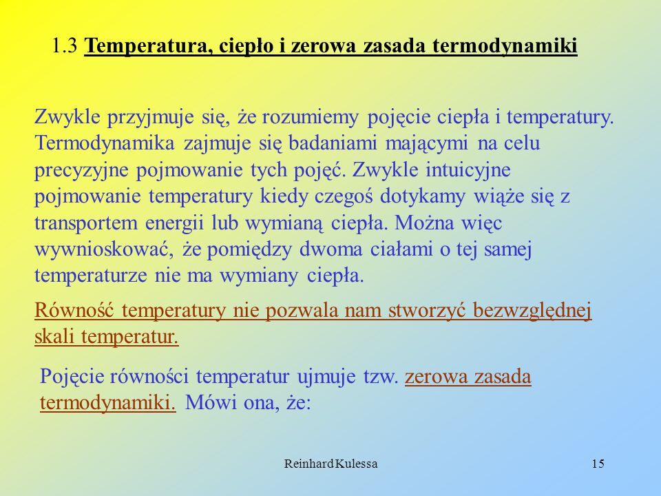 1.3 Temperatura, ciepło i zerowa zasada termodynamiki