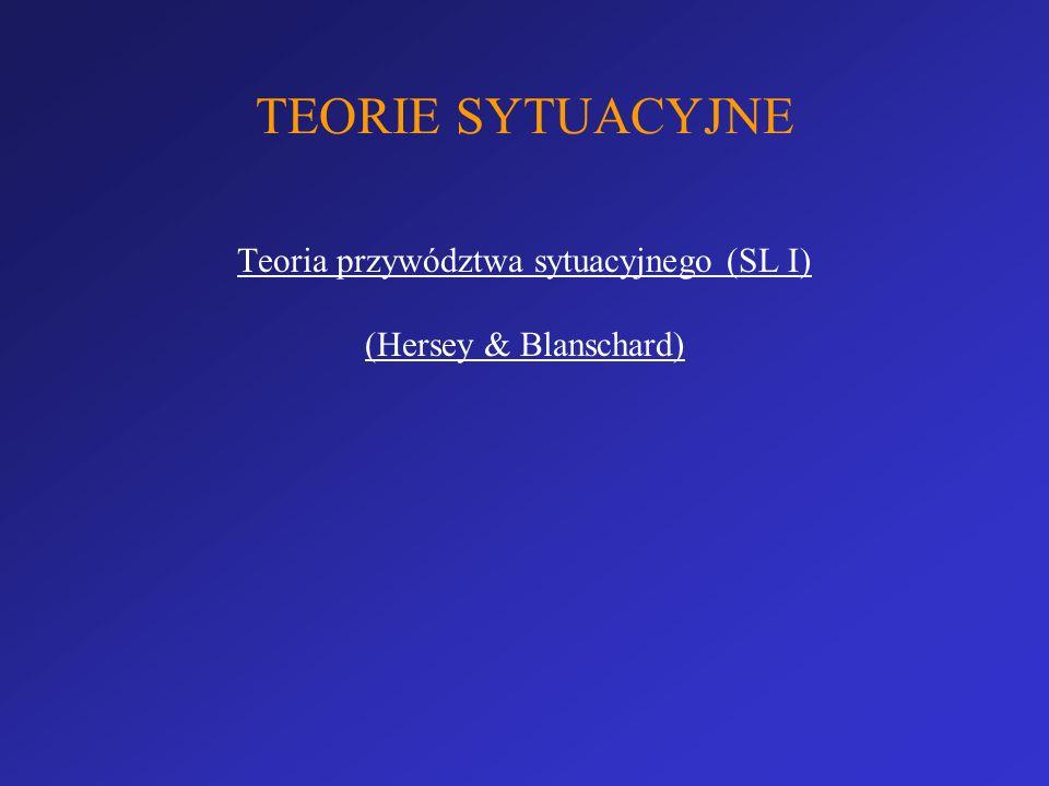 Teoria przywództwa sytuacyjnego (SL I)