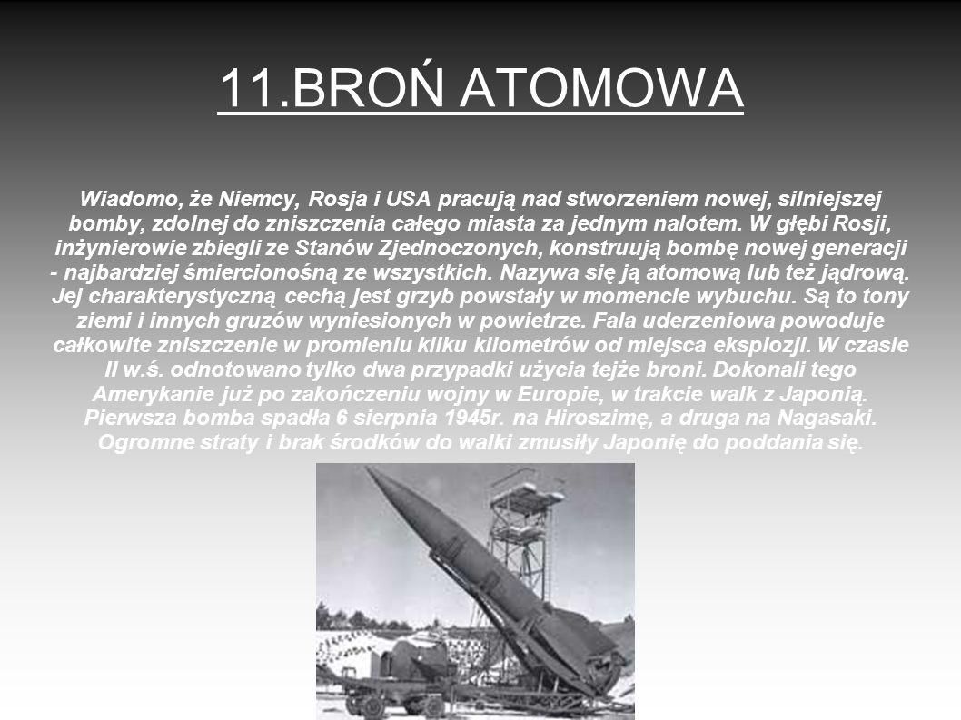 11.BROŃ ATOMOWA