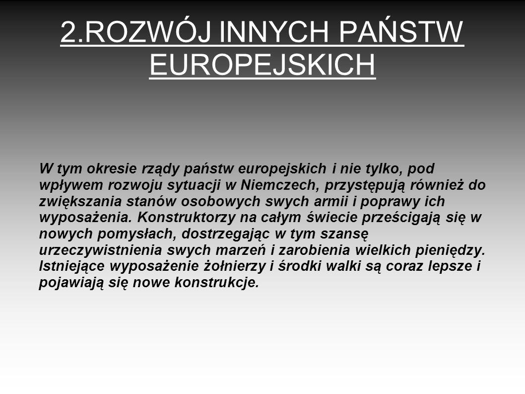 2.ROZWÓJ INNYCH PAŃSTW EUROPEJSKICH