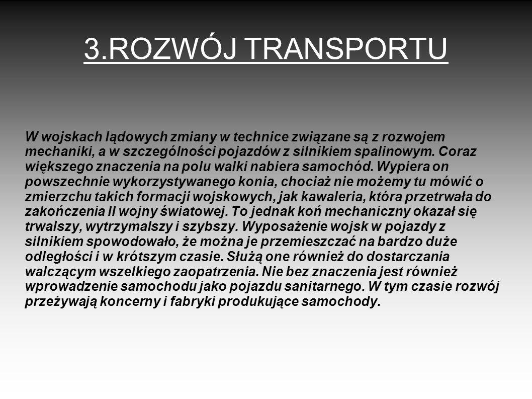 3.ROZWÓJ TRANSPORTU