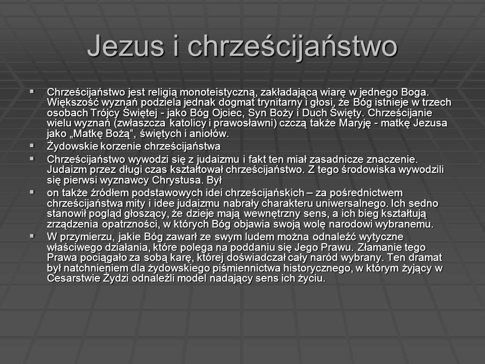 Jezus i chrześcijaństwo