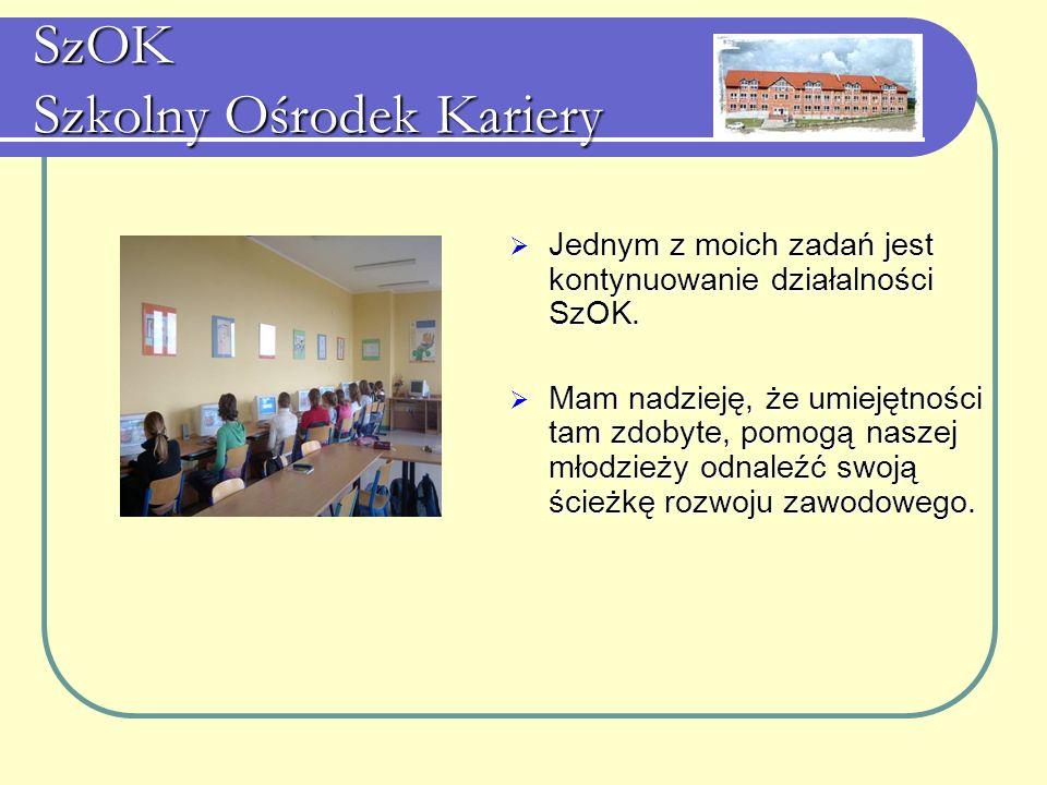 SzOK Szkolny Ośrodek Kariery