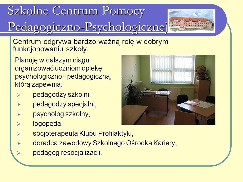 Szkolne Centrum Pomocy Pedagogiczno-Psychologicznej