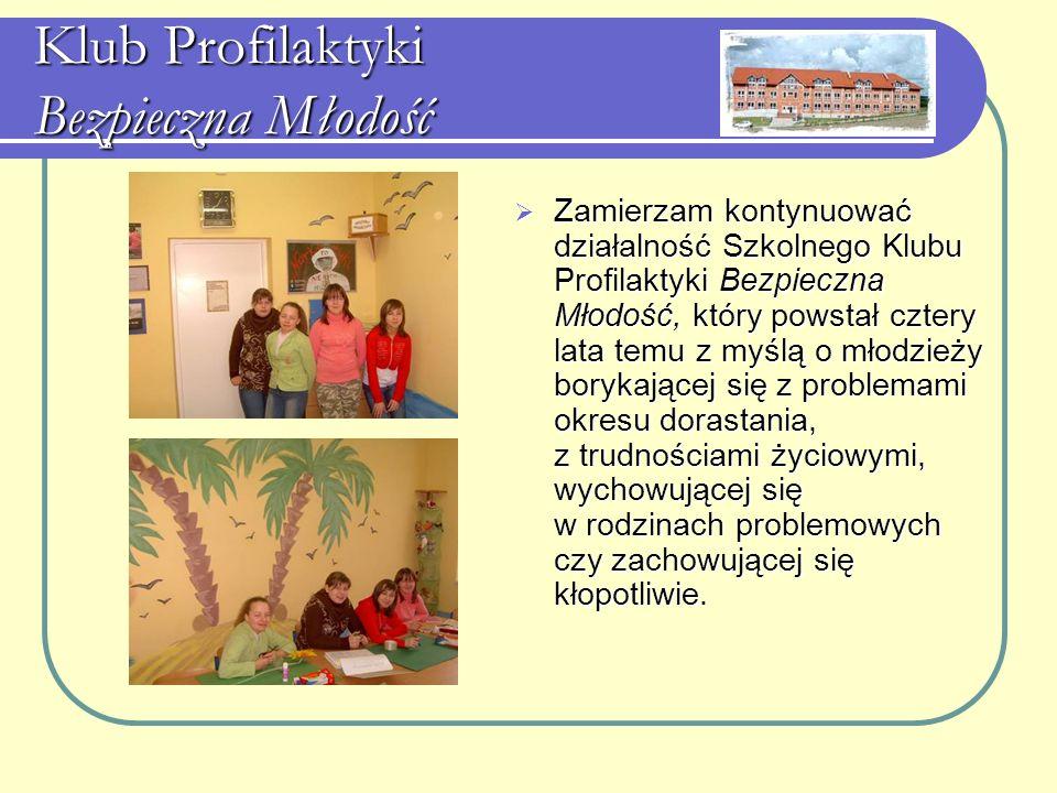 Klub Profilaktyki Bezpieczna Młodość