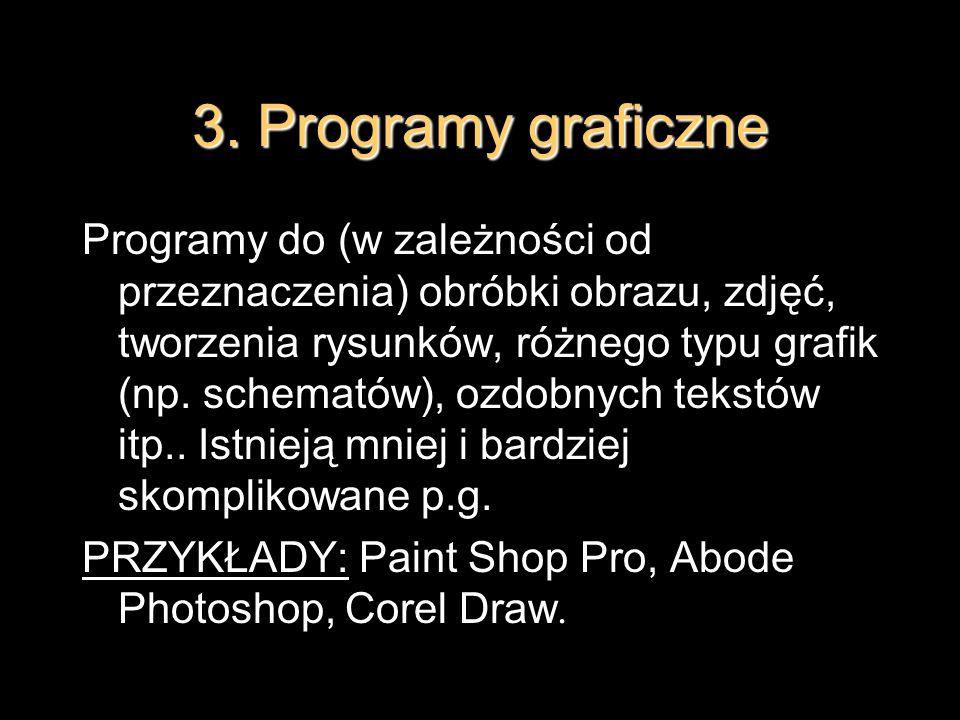3. Programy graficzne