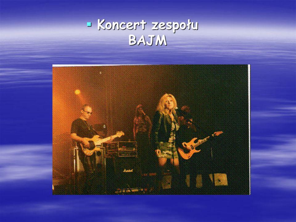 Koncert zespołu BAJM