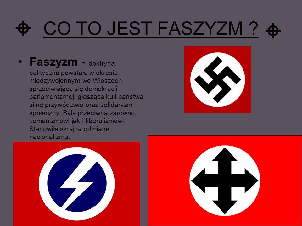 CO TO JEST FASZYZM