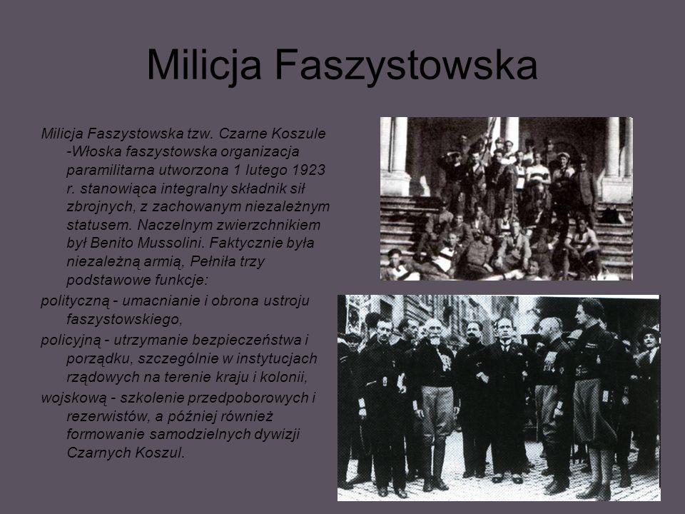 Milicja Faszystowska