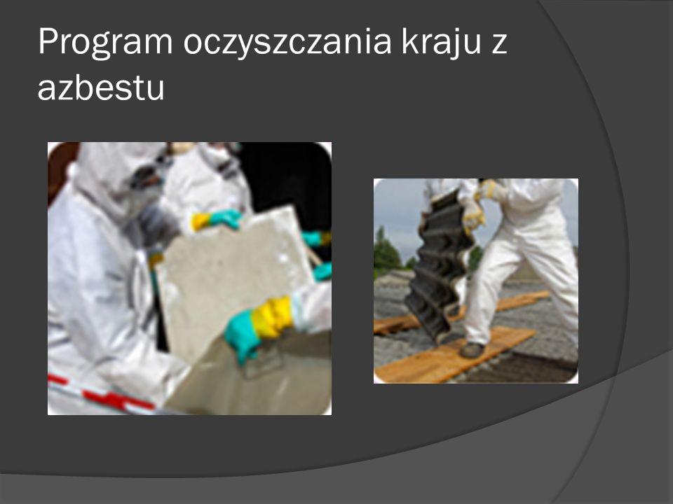 Program oczyszczania kraju z azbestu