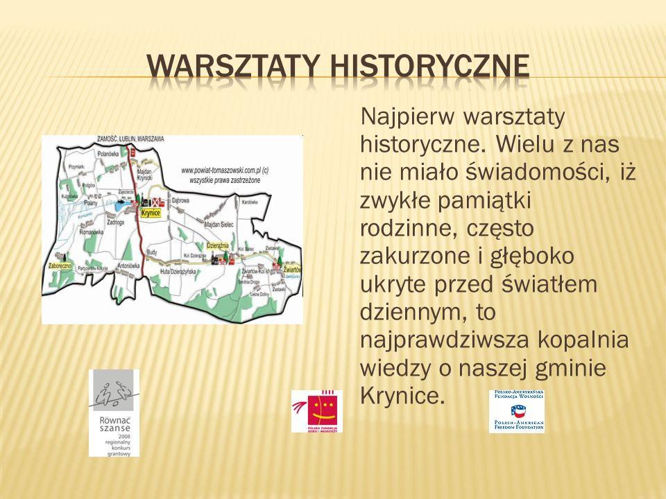 Warsztaty historyczne