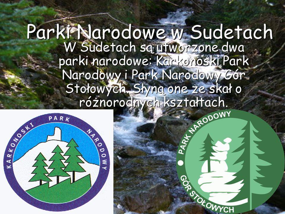 Parki Narodowe w Sudetach