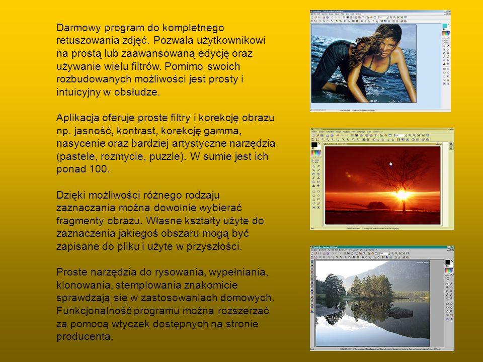 Darmowy program do kompletnego retuszowania zdjęć