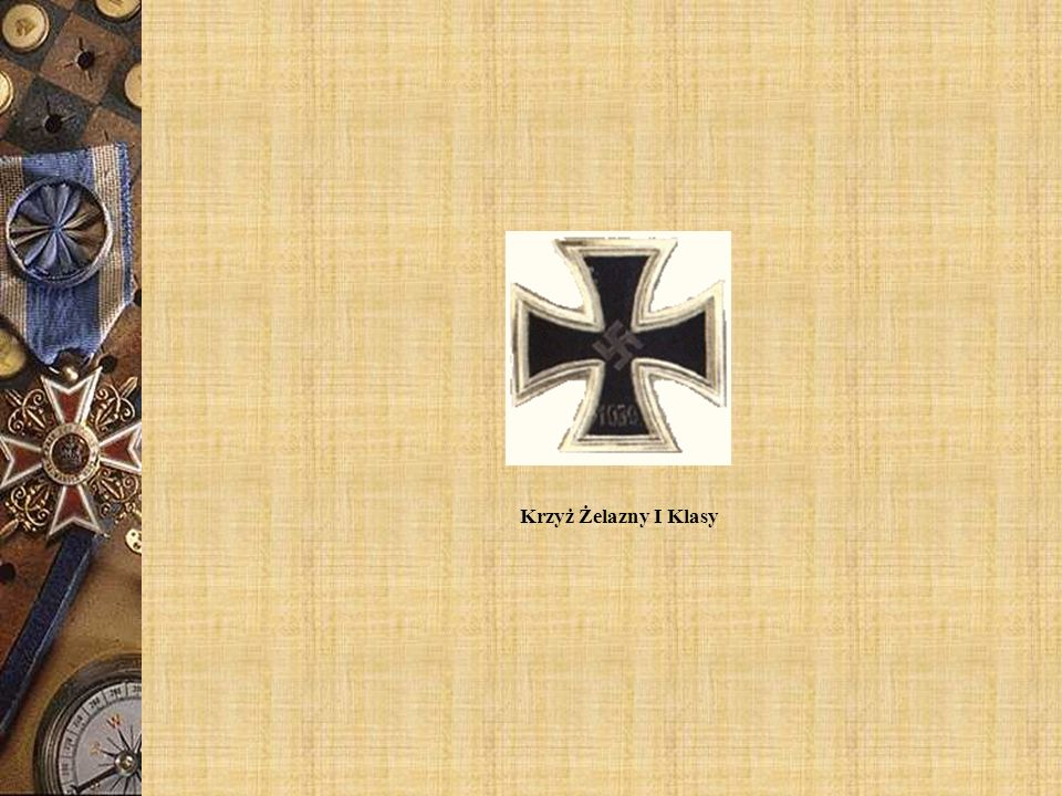 Krzyż Żelazny I Klasy