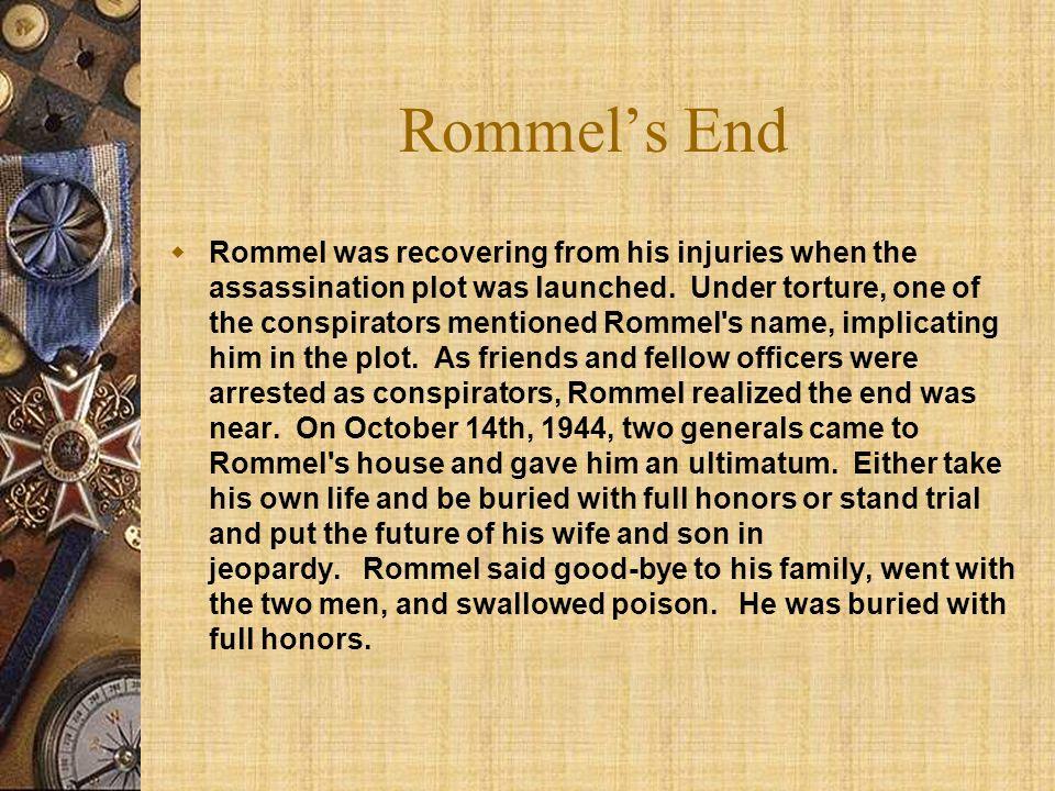 Rommel's End