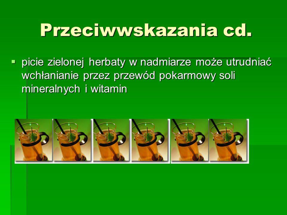 Przeciwwskazania cd.