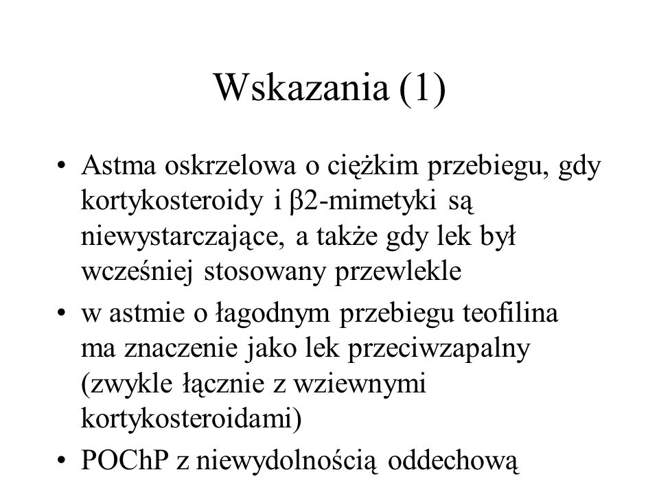 Wskazania (1)