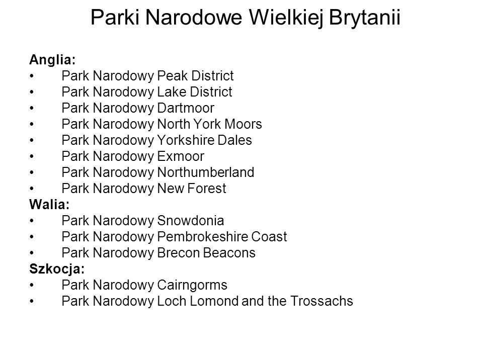 Parki Narodowe Wielkiej Brytanii
