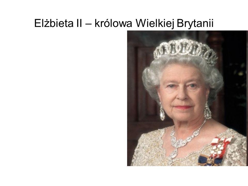 Elżbieta II – królowa Wielkiej Brytanii