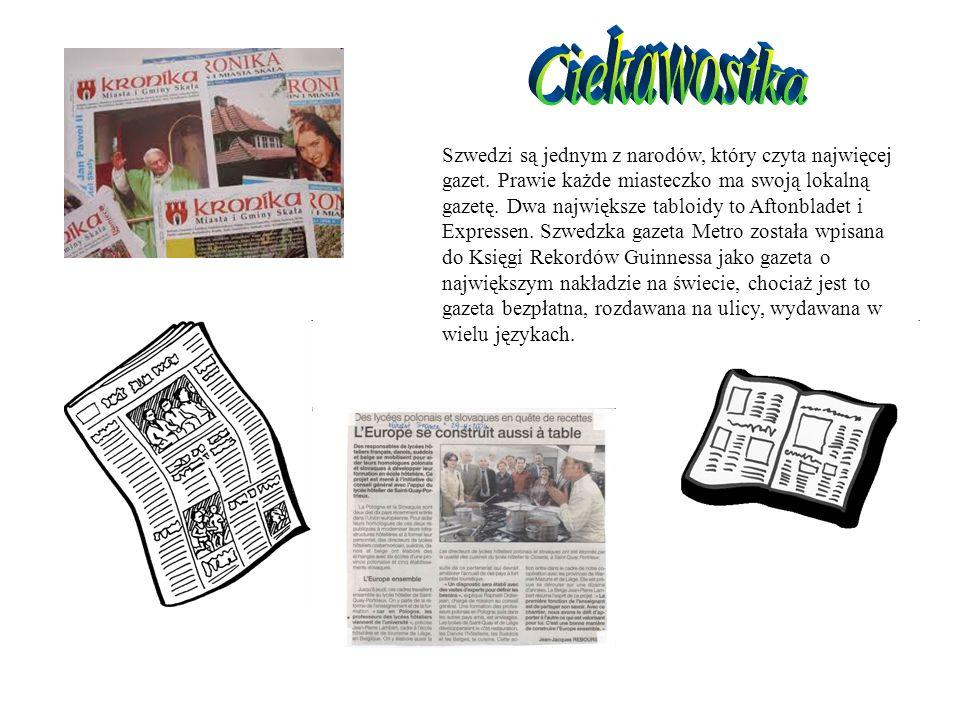 Szwedzi są jednym z narodów, który czyta najwięcej gazet